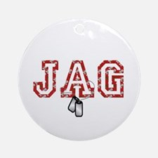 christmas bears jag Ornament (Round)