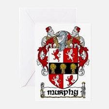 Murphy Coat of Arms Note Cards (Pk of 10)