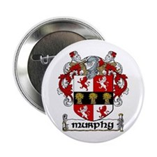 "Murphy Coat of Arms 2.25"" Button (10 pack)"