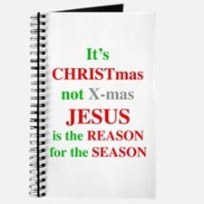 Christmas not XMAS Journal
