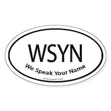 WSYN (Oval)