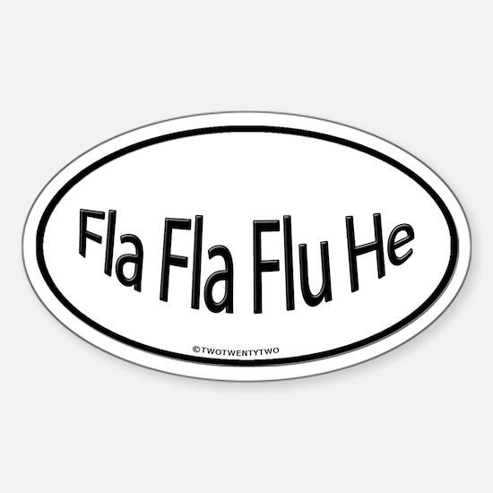 Fla Fla Flu He (Oval)