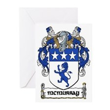 McMurray Coat of Arms Greeting Cards (10)