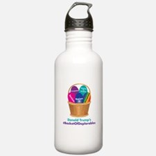 Trump's Basket of Deplorables Water Bottle