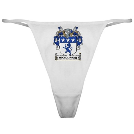 McMurray Coat of Arms Classic Thong