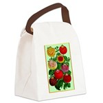 Chinese Lantern Vintage Flower Print Canvas Lunch