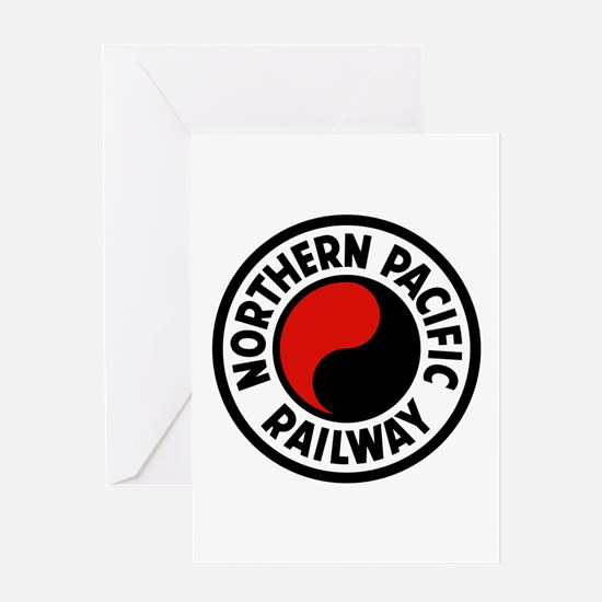 Northern Pacific Greeting Card
