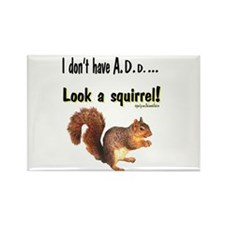ADD Squirrel Rectangle Magnet