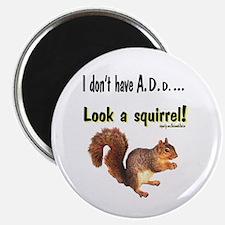 ADD Squirrel Magnet