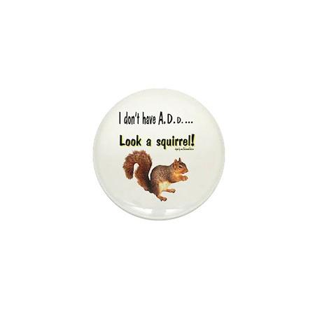 ADD Squirrel Mini Button