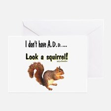 ADD Squirrel Greeting Cards (Pk of 10)