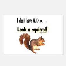 ADD Squirrel Postcards (Package of 8)