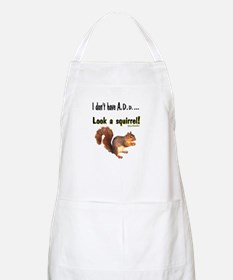 ADD Squirrel BBQ Apron
