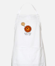 Chicken Pox BBQ Apron