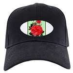 Red, Red Roses Vintage Print Baseball Hat
