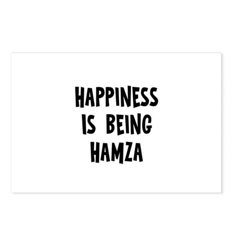 Happiness is being Hamza Postcards (Package of 8)
