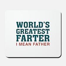 World's Greatest Farter Mousepad
