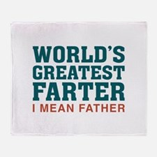 World's Greatest Farter Stadium Blanket