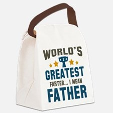 World's Greatest Farter Canvas Lunch Bag