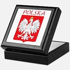 White Eagle and Polska Keepsake Box