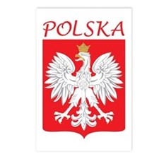 White Eagle and Polska Postcards (Package of 8)