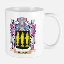 Selman Coat of Arms - Family Crest Mugs