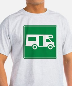 Motor Home Sign T-Shirt