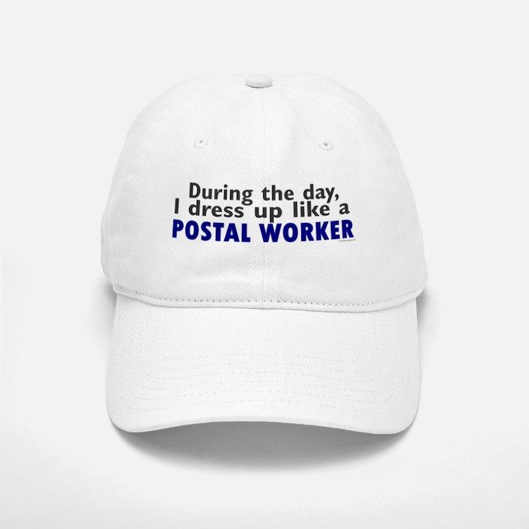 Dress Up Like A Postal Worker Baseball Baseball Cap