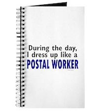 Dress Up Like A Postal Worker Journal