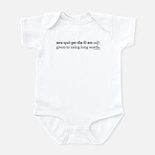 Sesquipedalian Infant Bodysuit
