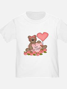 I LOVE My Cousin CUTE Bear T