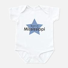 Unique Born mississippi Infant Bodysuit