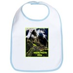 Machu Picchu Vintage Travel Advertising Print Bib