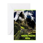 Machu Picchu Vintage Travel Advertising Print Gree