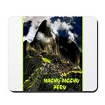 Machu Picchu Vintage Travel Advertising Print Mous