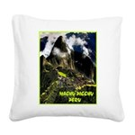Machu Picchu Vintage Travel Advertising Print Squa
