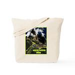 Machu Picchu Vintage Travel Advertising Print Tote