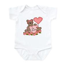 I LOVE My Brother CUTE Bear  Infant Bodysuit