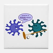 Polio Tile Coaster