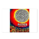 Mexico Vintage Travel Advertising Print Postcards