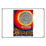 Mexico Vintage Travel Advertising Print Banner