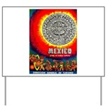 Mexico Vintage Travel Advertising Print Yard Sign