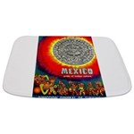 Mexico Vintage Travel Advertising Print Bathmat