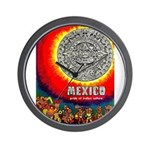 Mexico Vintage Travel Advertising Print Wall Clock