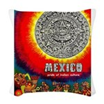 Mexico Vintage Travel Advertising Print Woven Thro