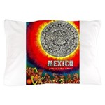 Mexico Vintage Travel Advertising Print Pillow Cas