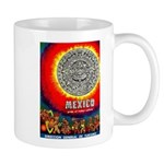 Mexico Vintage Travel Advertising Print Mugs