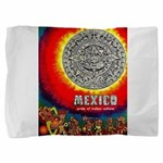 Mexico Vintage Travel Advertising Print Pillow Sha