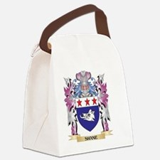 Shane Coat of Arms - Family Crest Canvas Lunch Bag