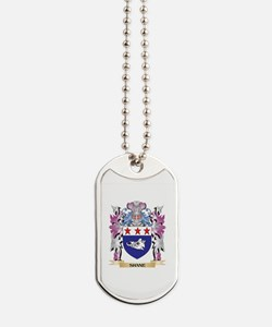 Shane Coat of Arms - Family Crest Dog Tags